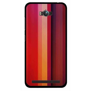 Snooky Printed Colorfull Stripes Mobile Back Cover For Asus Zenfone Max - Multicolour