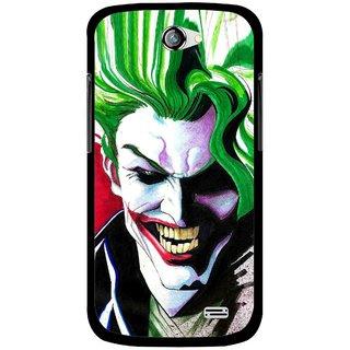 Snooky Printed Joker Mobile Back Cover For Gionee Pioneer P2 - Multi