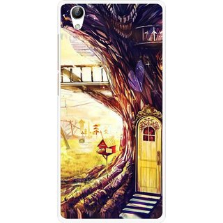 Snooky Printed Dream Home Mobile Back Cover For Vivo Y51L - Multi