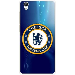 Snooky Printed Football Club Mobile Back Cover For Vivo Y51L - Multi
