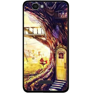 Snooky Printed Dream Home Mobile Back Cover For Micromax Canvas 2 A120 - Multi