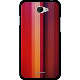 Snooky Printed Colorfull Stripes Mobile Back Cover For HTC Desire 516 - Multicolour