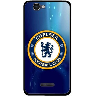 Snooky Printed Football Club Mobile Back Cover For Micromax Canvas 2 A120 - Multi