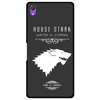 Snooky Printed House Stark Mobile Back Cover For Sony Xperia Z2 - Multi
