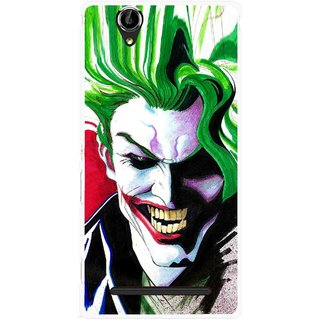 Snooky Printed Joker Mobile Back Cover For Sony Xperia T2 Ultra - Multi