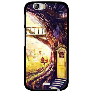 Snooky Printed Dream Home Mobile Back Cover For Micromax Canvas Turbo A250 - Multi