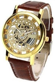 TRUE CHOICE GOLD OPEN DAIL ANALOG WATCH FOR MEN.