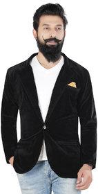 Kandy casual solid velvet 500  black for mens