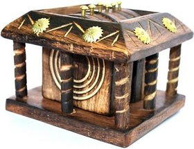 Triple S Handicrafts Square  Coaster Set