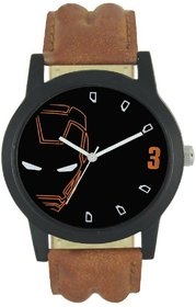 A R Sales Iron Man Print Analog Watch For Men And Boys-