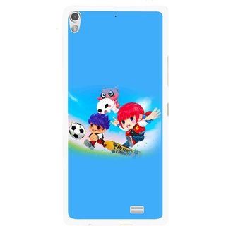 Snooky Printed Childhood Mobile Back Cover For Gionee Elife S5.1 - Multi