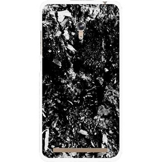 Snooky Printed Rocky Mobile Back Cover For Asus Zenfone 6 - Black
