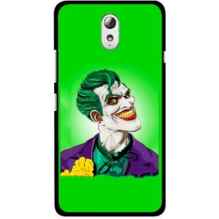 Snooky Printed Ismail Please Mobile Back Cover For Lenovo Vibe P1M - Multicolour