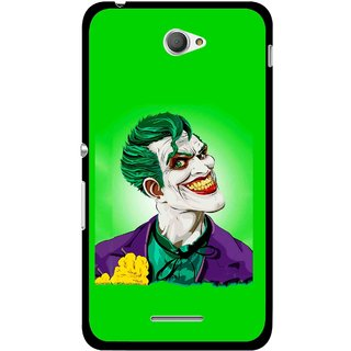 Snooky Printed Ismail Please Mobile Back Cover For Sony Xperia E4 - Multicolour