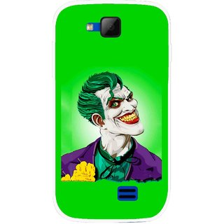 Snooky Printed Ismail Please Mobile Back Cover For Micromax Canvas Fun A63 - Multicolour