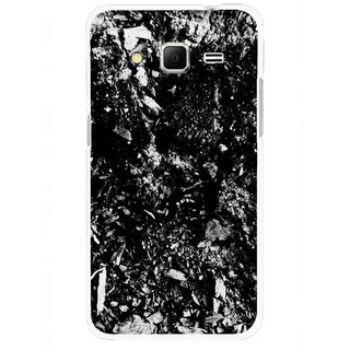 Snooky Printed Rocky Mobile Back Cover For Samsung Galaxy Core Prime - Black
