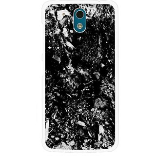 Snooky Printed Rocky Mobile Back Cover For HTC Desire 326G - Black