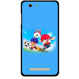 Snooky Printed Childhood Mobile Back Cover For Gionee F103 pro - Multi