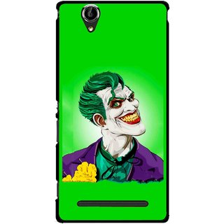 Snooky Printed Ismail Please Mobile Back Cover For Sony Xperia T2 Ultra - Multicolour