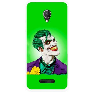 Snooky Printed Ismail Please Mobile Back Cover For Micromax Canvas Spark Q380 - Multicolour