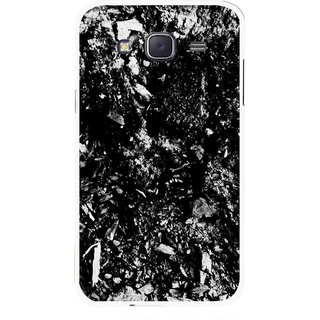 Snooky Printed Rocky Mobile Back Cover For Samsung Galaxy J7 - Black