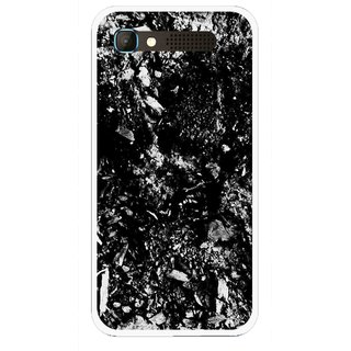 Snooky Printed Rocky Mobile Back Cover For Intex Aqua Y2 Pro - Black