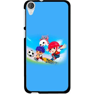 Snooky Printed Childhood Mobile Back Cover For HTC Desire 820 - Multi