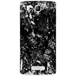 Snooky Printed Rocky Mobile Back Cover For Oppo Neo 3 R831k - Black