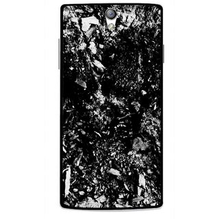 Snooky Printed Rocky Mobile Back Cover For Oppo Find 5 Mini - Black