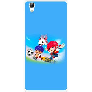 Snooky Printed Childhood Mobile Back Cover For Vivo Y51L - Multi