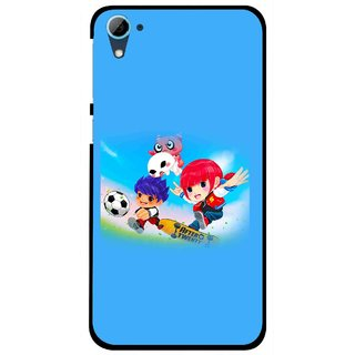 Snooky Printed Childhood Mobile Back Cover For HTC Desire 826 - Multi