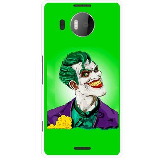 Snooky Printed Ismail Please Mobile Back Cover For Microsoft Lumia 950 XL - Multicolour