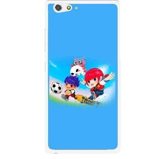 Snooky Printed Childhood Mobile Back Cover For Gionee Elife S6 - Multi