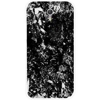 Snooky Printed Rocky Mobile Back Cover For Lenovo Zuk Z1 - Black
