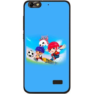 Snooky Printed Childhood Mobile Back Cover For Huawei Honor 4C - Multi