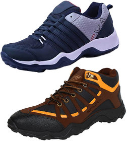Armado Multicolor Canvas PVC Sports Shoes For Men Pack of 2