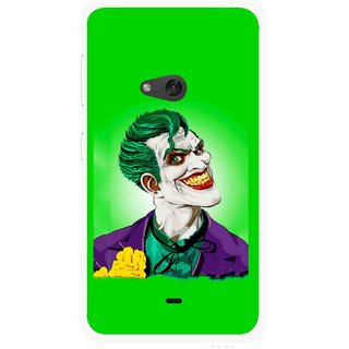 Snooky Printed Ismail Please Mobile Back Cover For Nokia Lumia 625 - Multicolour