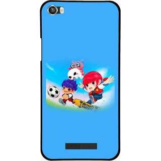 Snooky Printed Childhood Mobile Back Cover For Lava Iris X8 - Multi