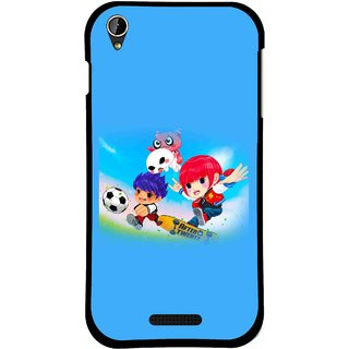 Snooky Printed Childhood Mobile Back Cover For Lava X1 Mini - Multi