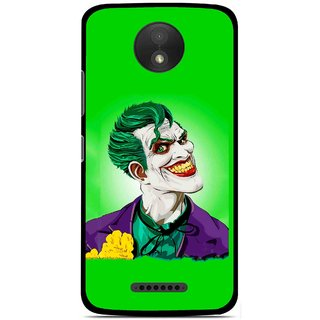 Snooky Printed Ismail Please Mobile Back Cover For Motorola Moto C Plus - Multicolour
