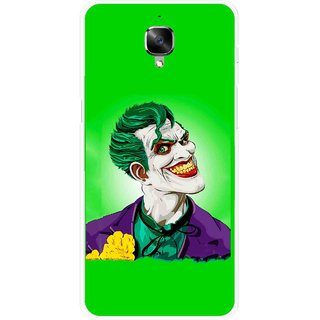 Snooky Printed Ismail Please Mobile Back Cover For OnePlus 3 - Multicolour