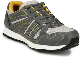 Sir Corbett Men's Gray Sports Shoes