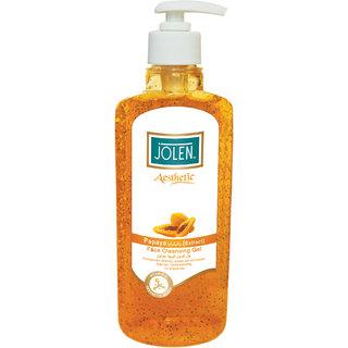 Jolen Aesthetic Papaya Face Cleansing Gel - 250 ml