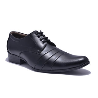 Sir Corbett Mens Black Formal Shoe