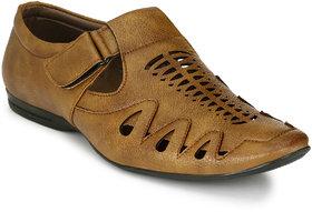 Sir Corbett Men's Beige Sandals