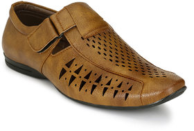Sir Corbett Men's Beige Sandals - 136212048