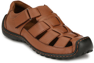 Sir Corbett Men's Brown Sandals
