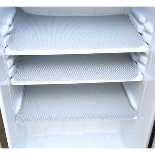Kuber IndustriesAnti Slip Refrigerator Drawer Mat/ Anti Skid Resistant Fridge Mat (White)