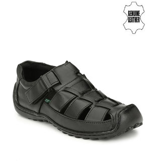 Sir Corbett Men's Black Sandals