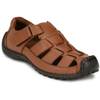 Sir Corbett Men's Brown Sandals